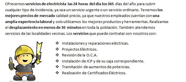 Electricistas Langreo profesionales veloces